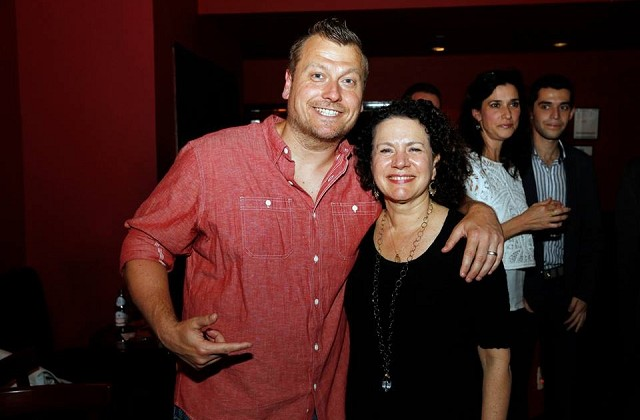 Comedians Jimmy Failla  and Susie Essman