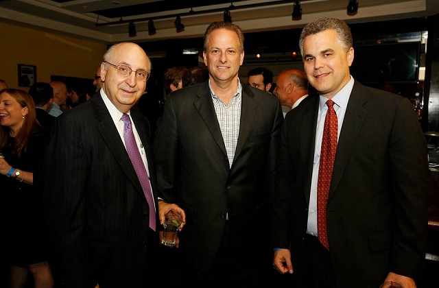 Charles Gueli of Broadacre Financial, Doug Traynor of Aareal Capital Corp, and Mark Gerstein of IHG