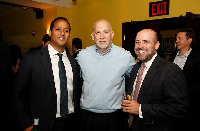 Jason Ourman of Bank of America with Michael Mazzei and Aaron Welsh of Ladder Capital