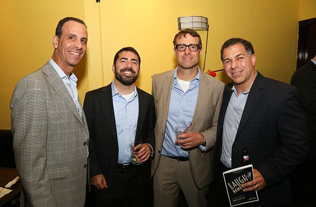 Barry Gersten, Rob Tarulli, Vic Diaso, and Sal Tarsia of Bedrock Capital