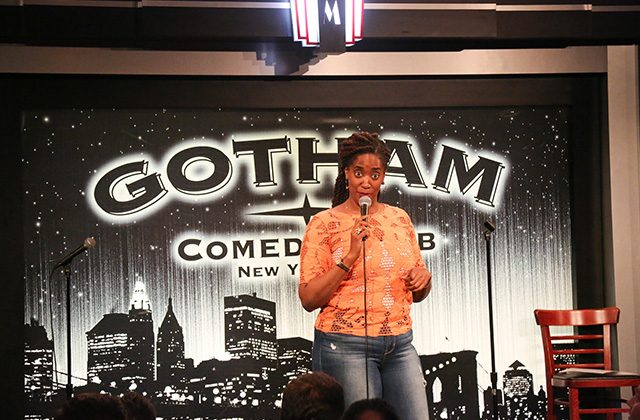 Comedian Chloe Hilliard