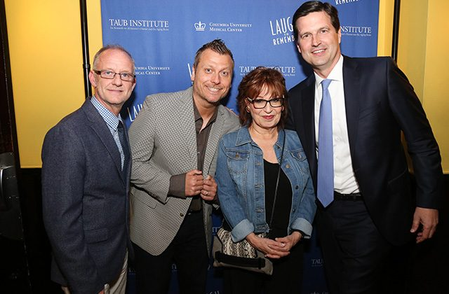 Comedians Buddy Fitzpatrick, Jimmy Failla, Joy Behar, and Chris Haynes of Broadacre Financial