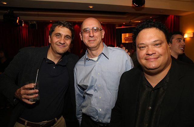 Nicola Cetorelli, Dean Brier, Adrian Martinez