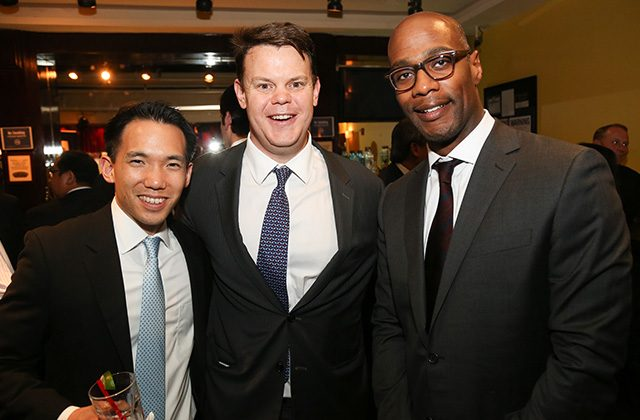 Brian Lin of Bank of America, Jay Lugosch of CIBC, Quentin Fogan of Bank of America