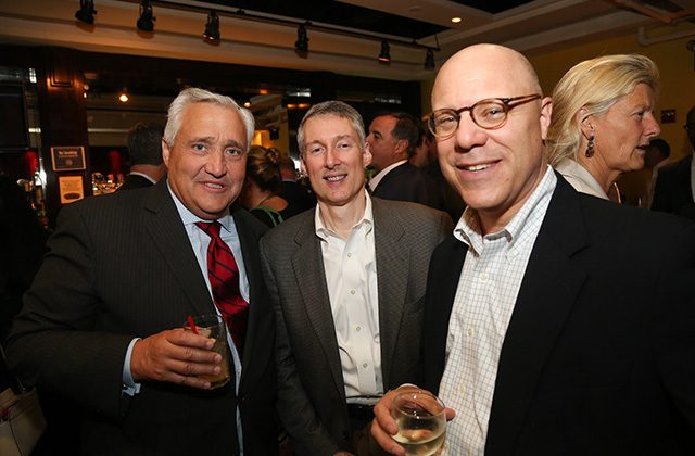 Bob Fitzpatrick of Institutional Mortgage Capital, Dave Rodgers and Bob Spinna of Parkbridge Financial