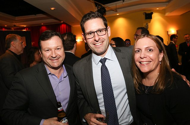 Gary Romaniello of Societe Generale, Tom Lansen of Cassin & Cassin, and Theresa Mercogliano of Bank of America