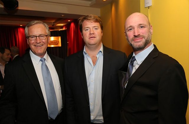 Rob Dirks of Principle Financial; Barclay Lynch of Bedrock Capital Associates; Aaron Prager of Avison Young