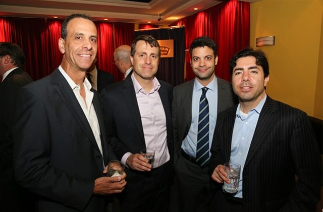Barry Gersten, Vick Diaso, Matt Alexis, and Rob Tarulli of Bedrock Capital Associates