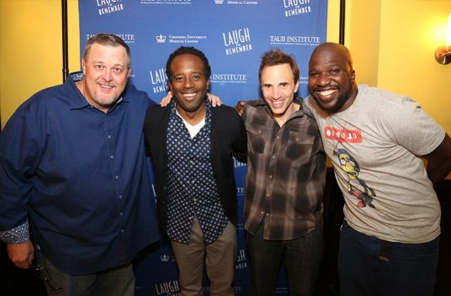 Billy Gardell, Wali Collins; Paul Mecurio, and James Goff (Comedians)