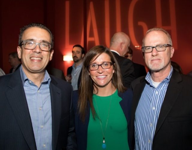 John Natalone of Arbor Commercial Mortgage, Emily Rush and Andrew Rosen of Bank of America