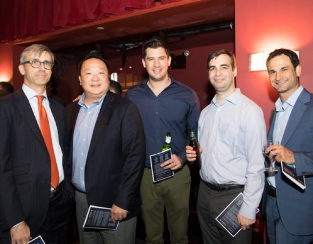 Alan Lawrence of Cadwalader, Wickersham & Taft LLP, Ben Wang of Macquarie, Beau Williams and Steven Buchwald of Mission Capital Advisors, Rob Bernstein Aries Conlon Capital