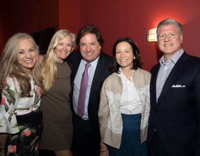 KT Bren of Metropole, Camille Duvall of Warburg Realty, Jon Bren of KBS Advisors, Melissa and Barry Bausano