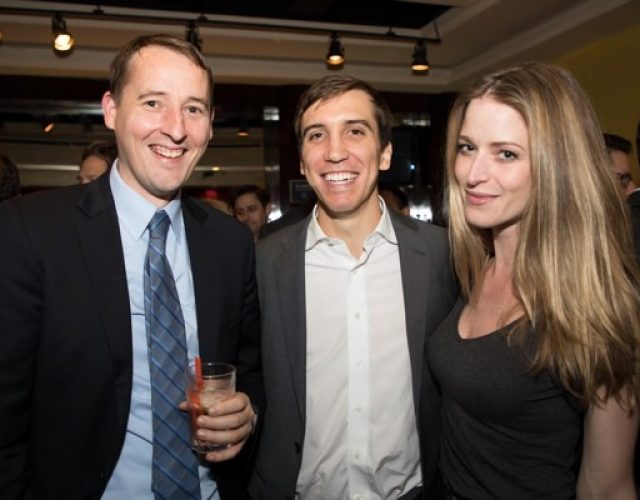 Brendan Graham of CIBC, Max Gentile of CIBC, Miranda Pierson of AmTrust Title