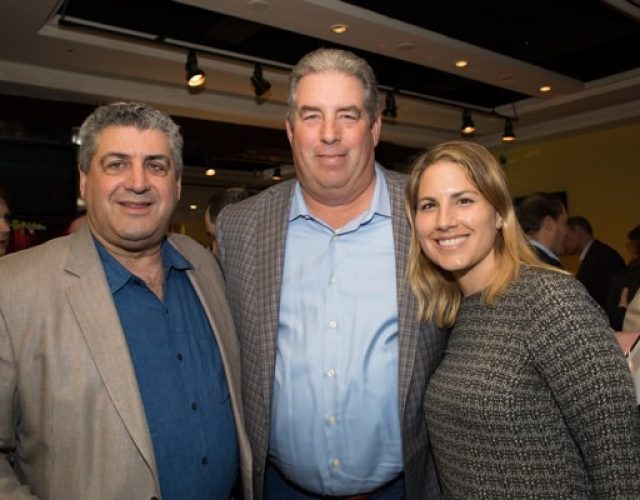Marc Landis of Phillips Nizer LLP, Nick DeMartini and  Caroline Malapero of Fidelity National Trust